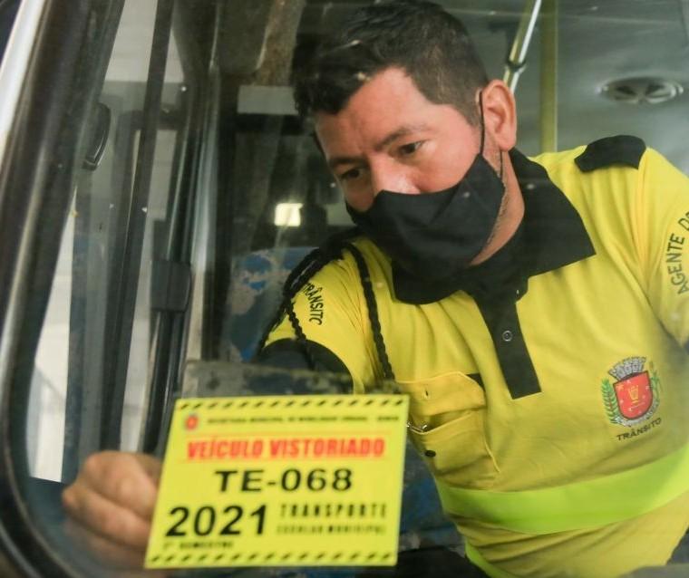 Vistoria de veículos do transporte escolar de Maringá segue até sexta-feira (27)