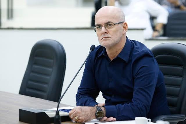 Secretário de Logística e Compras da Prefeitura de Maringá, Coronel Paulo Sérgio Cartens | Foto: Arquivo/CMM
