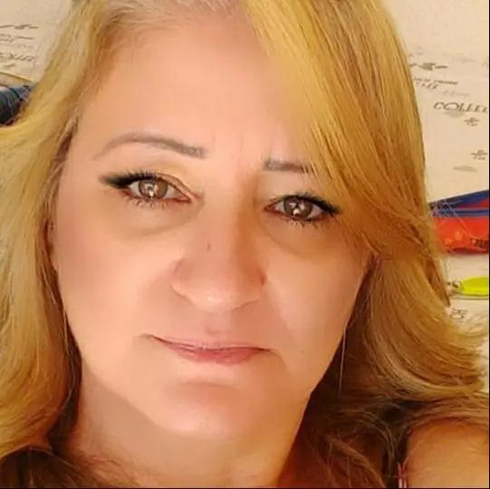 O corpo de Sandra Fiori, de 52 anos, foi encontrado nesta terça-feira (17) - Foto: Reprodução