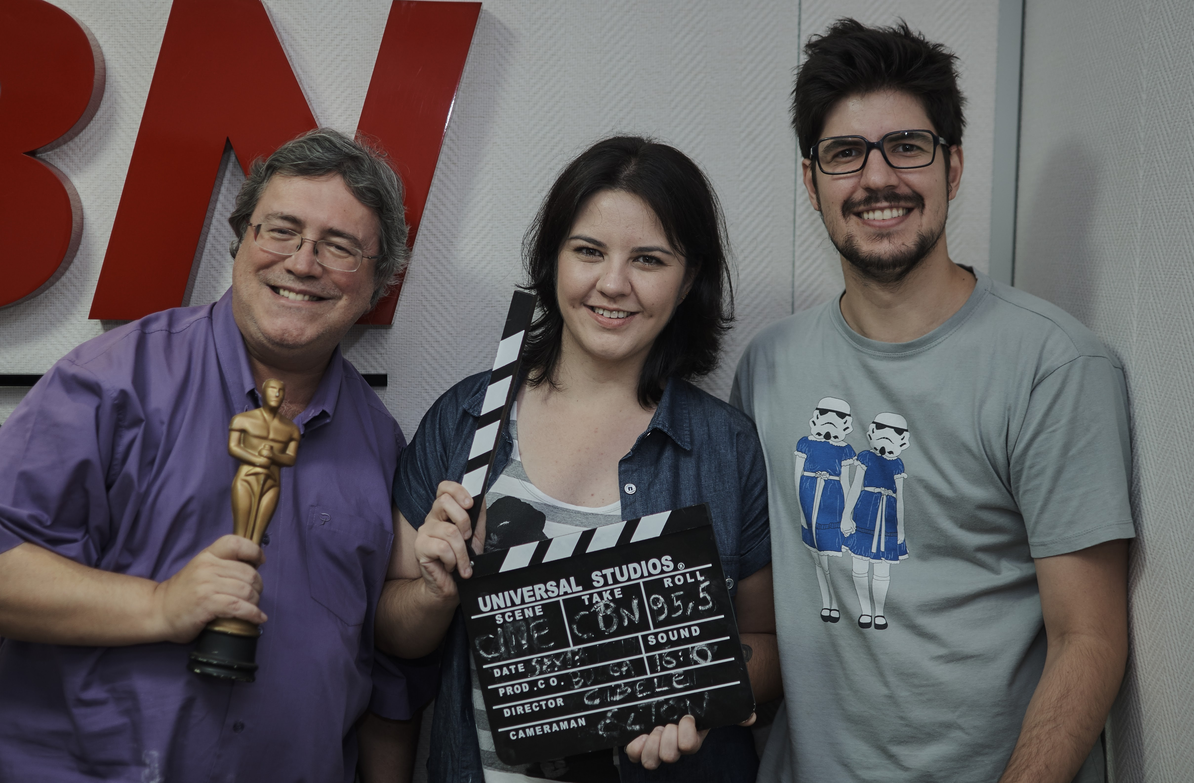 Marcelo Bulgarelli, Cibele Chacon e Elton Telles