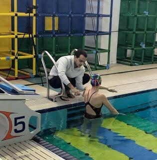Técnico da natação André Yamazaki