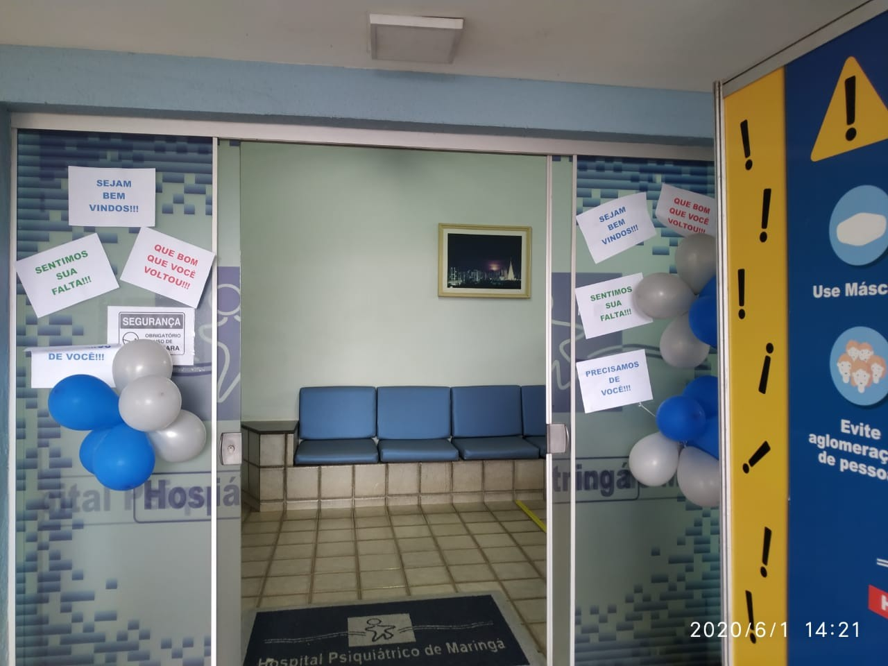 foto: divulgação/Hospital Psiquiátrico de Maringá