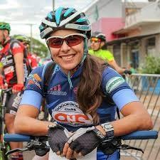 Piloto do ciclismo Lorena Oliveira