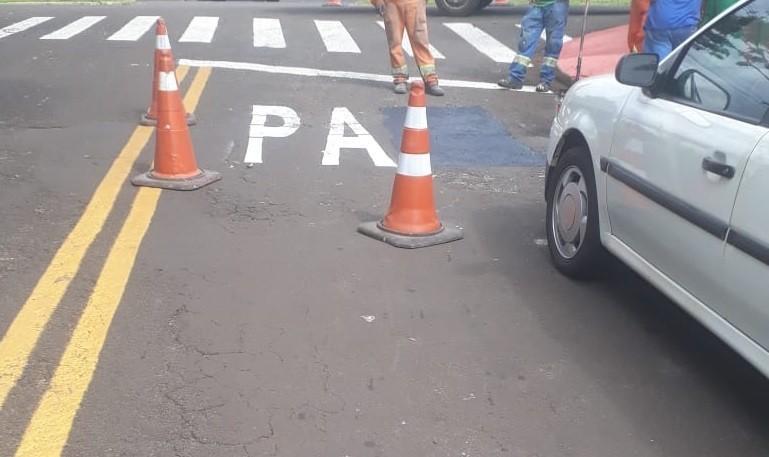 Aviso foi corrigido na tarde desta quarta-feira (13). (Foto: Divulgação/Semob)