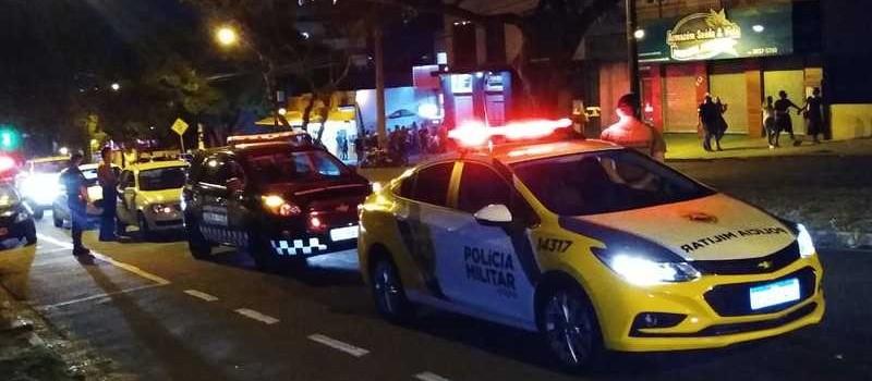 Maringá: Operação é realizada para combater aglomeração de pessoas na Av. Petrônio Portela