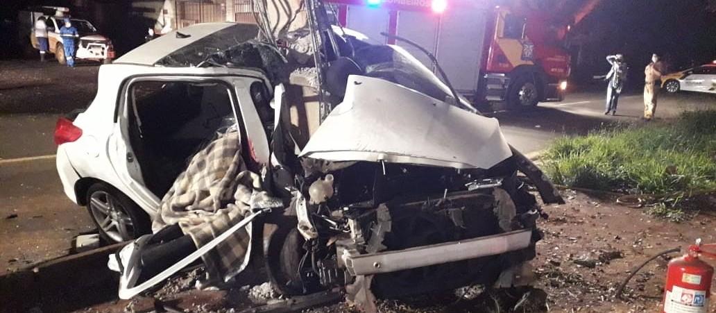 Jovens que morreram em acidente na Avenida Guedner são identificados