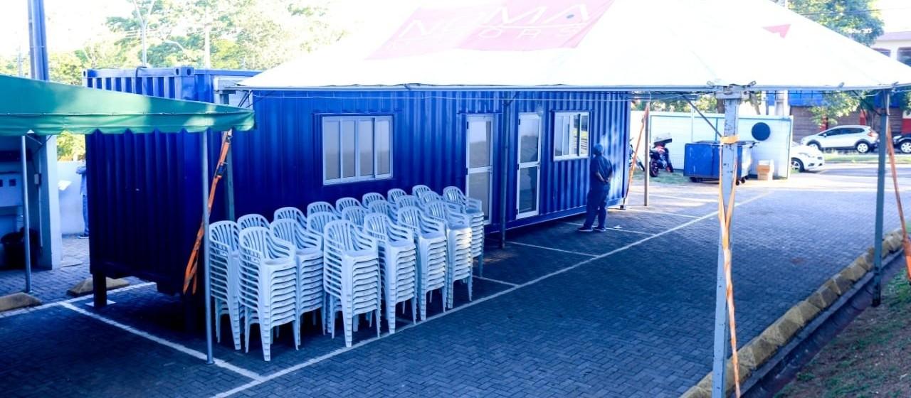 Container na UPA Zona Norte começa a funcionar nesta segunda-feira (30)