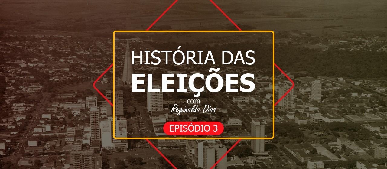 Os primeiros representantes eleitos por Maringá - História das Eleições