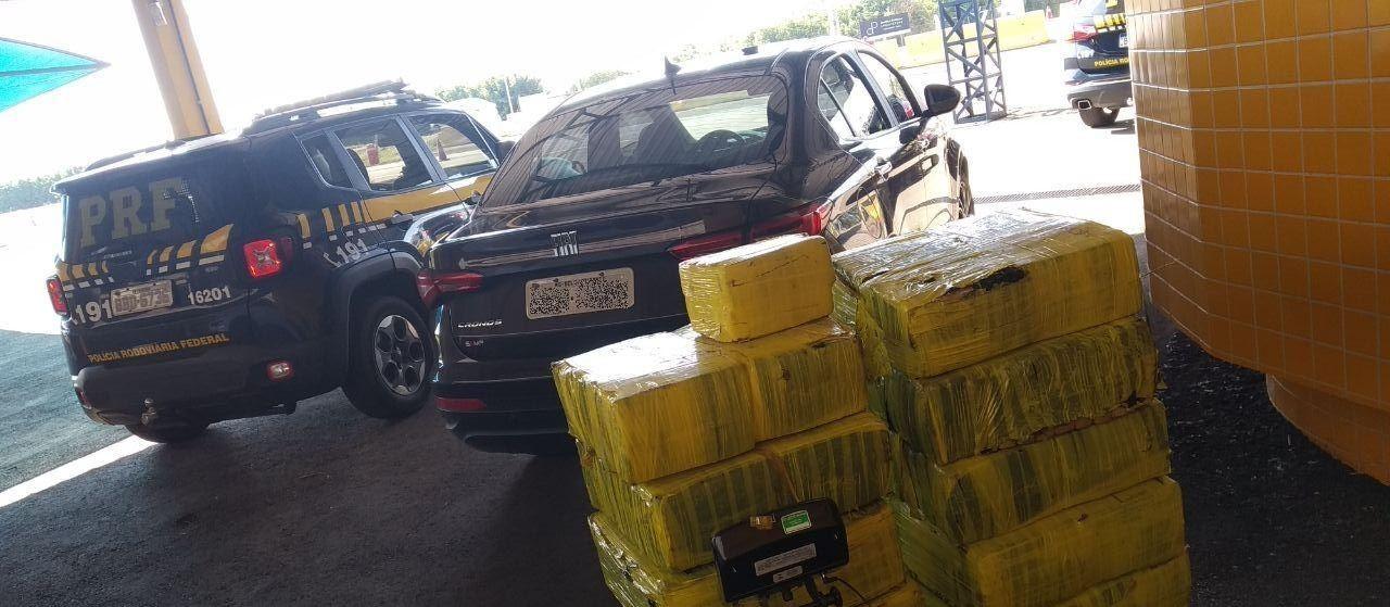 PRF apreende mais de 300 kg de maconha em Alto Paraná