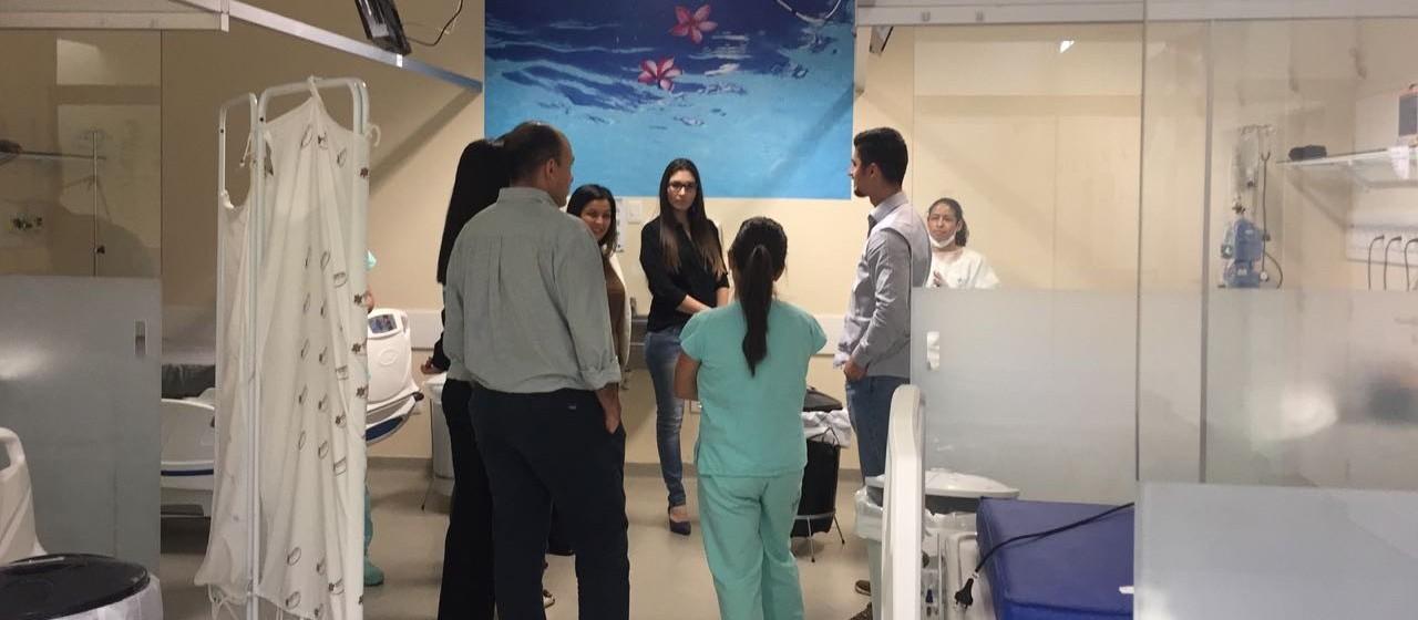 Técnicos do Sírio Libanês avaliam UTI do Hospital Municipal