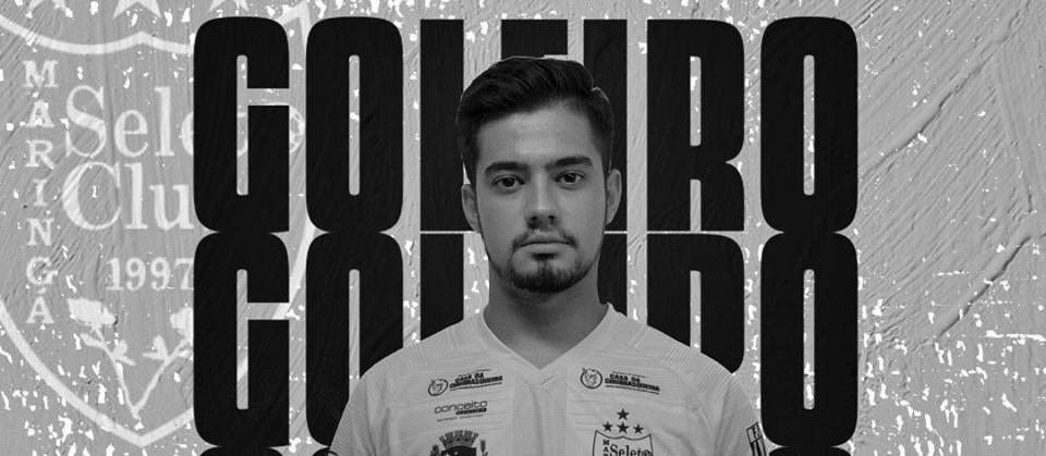 Goleiro do Maringá Seleto Futsal fica gravemente ferido em acidente