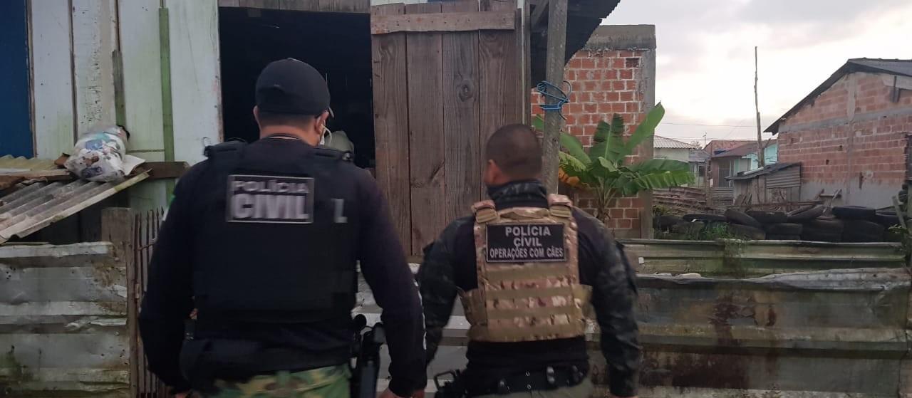 Polícia Civil cumpre mandados de prisão e busca e apreensão em Altônia