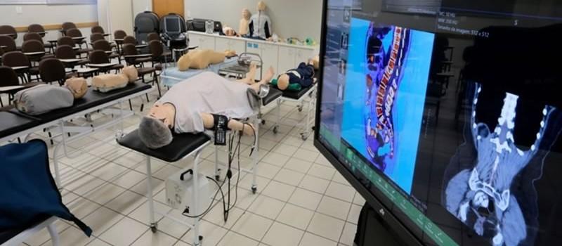 Simulações estão sendo integradas na metodologia dos cursos de saúde