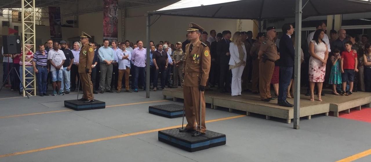 Corpo de Bombeiros de Maringá tem novo comandante