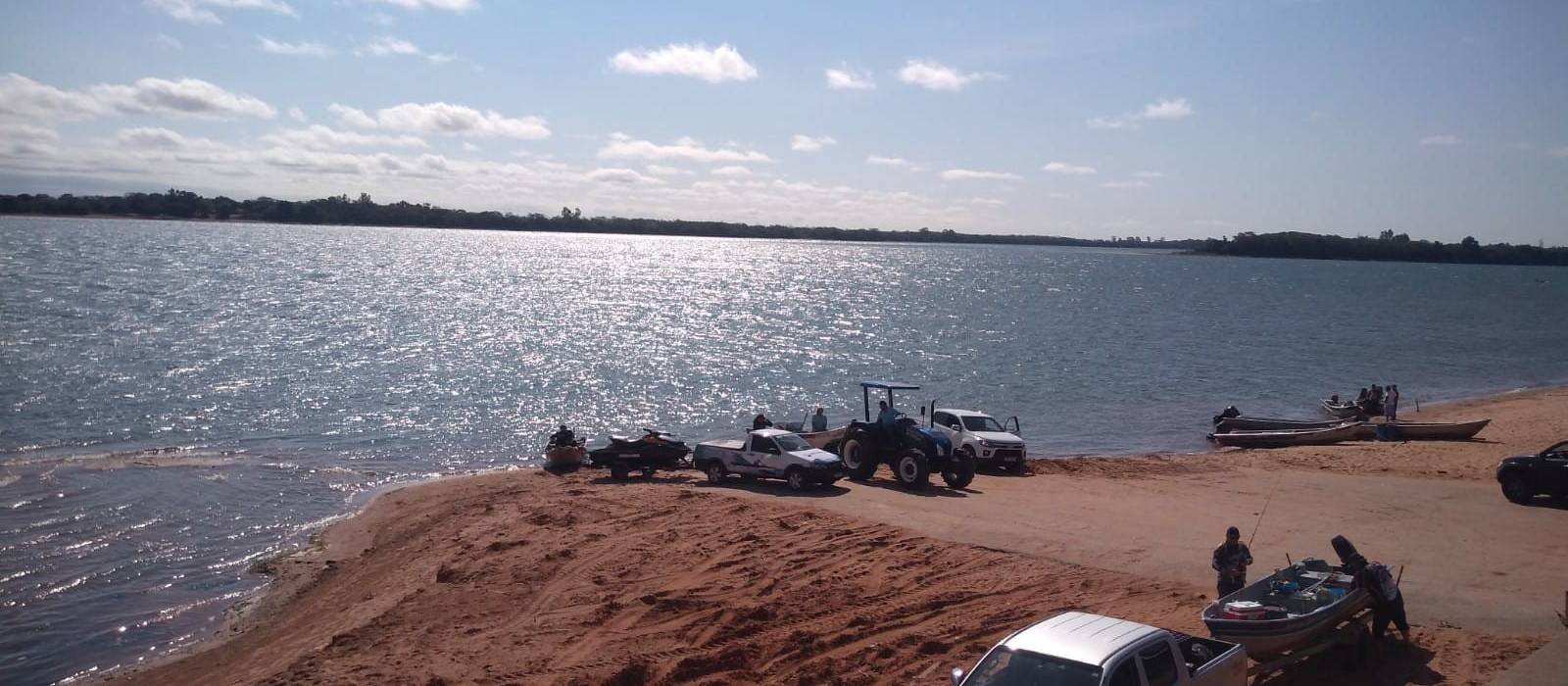 Queda nos níveis do Rio Paraná está se tornando frequente, mas não é normal