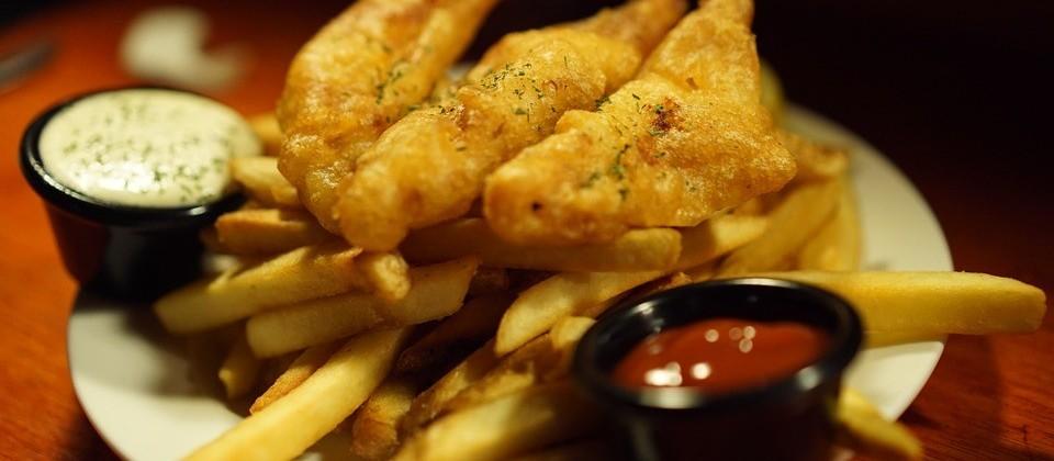 Fish 'n' chips: tradicional prato inglês