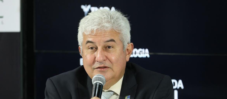 Ministro Marcos Pontes faz palestra na Semana Acadêmica da Feitep
