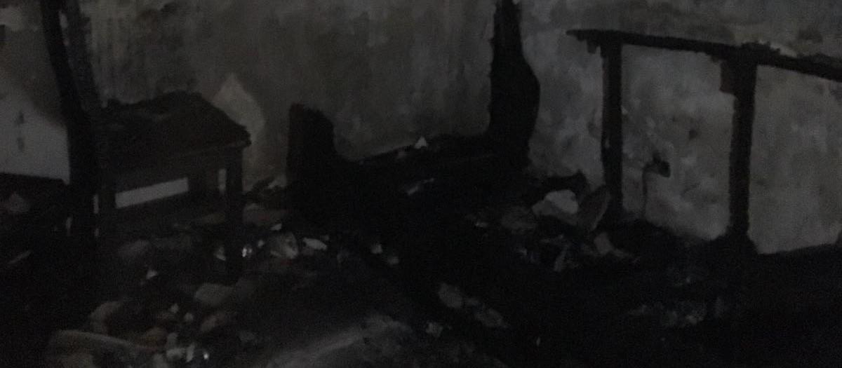 Zelador controla incêndio em apartamento; ninguém fica ferido