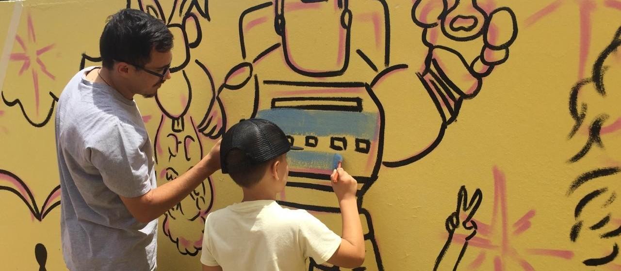 Arte como auxílio