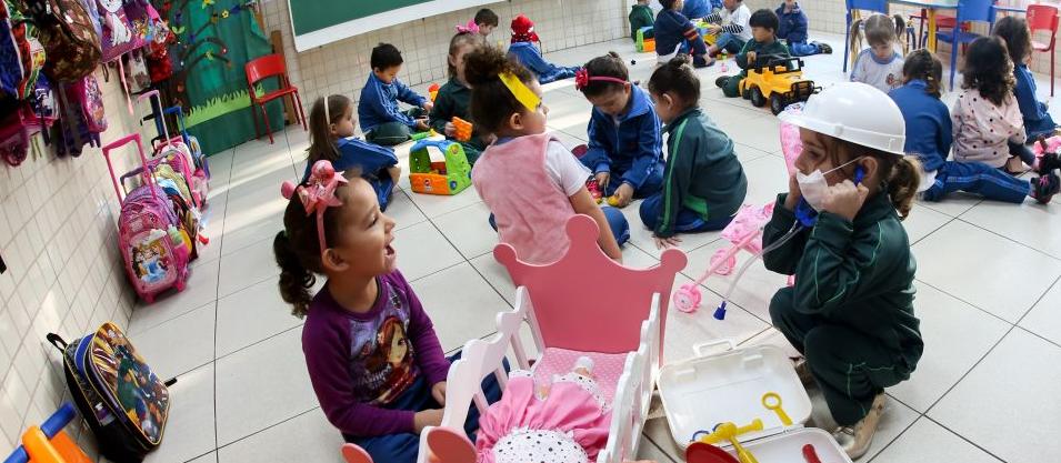 Nem 10% das vagas ofertadas nas creches particulares foram preenchidas