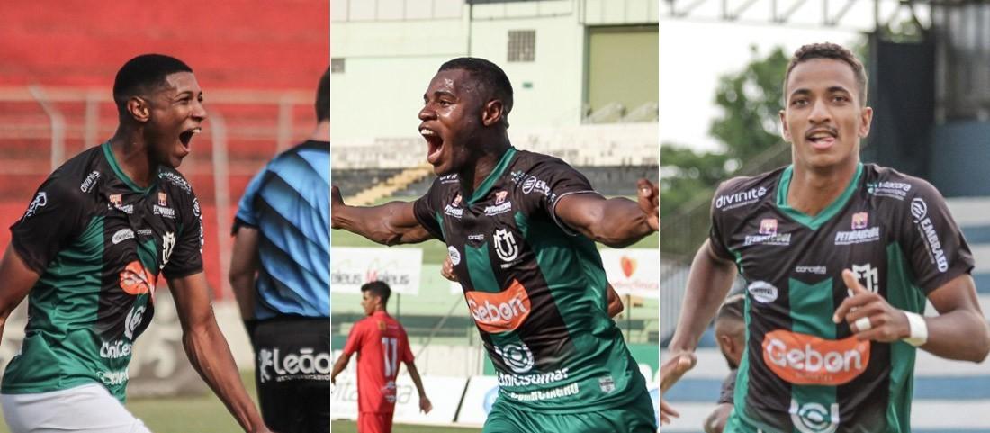Maringá FC anuncia renovação de contrato de três atletas para a temporada 2021