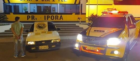 Motorista é preso com três tabletes de maconha em abordagem da PRE