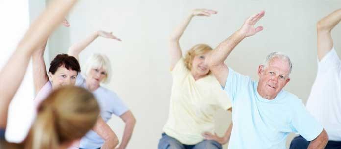 Benefícios da prática de exercícios físicos na terceira idade
