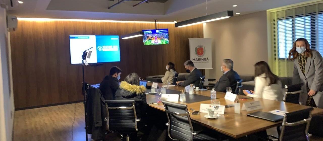 Aeroporto e Expoingá são apresentados em seminário internacional de negócios