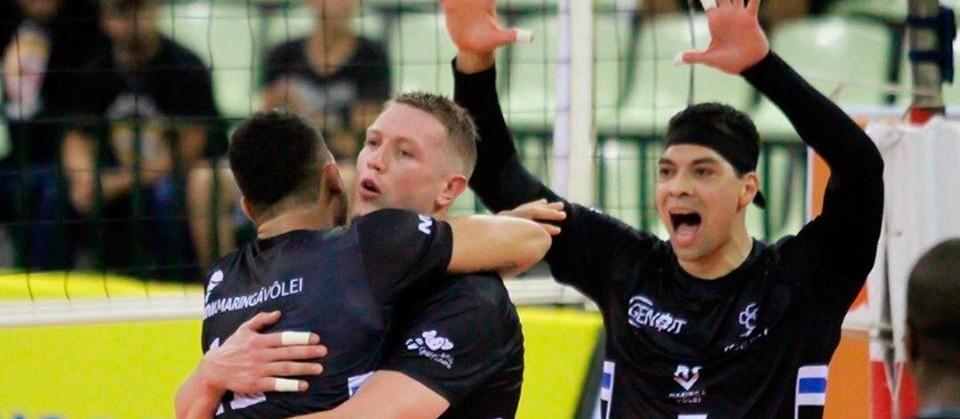 Maringá Vôlei inicia returno da Superliga com vitória