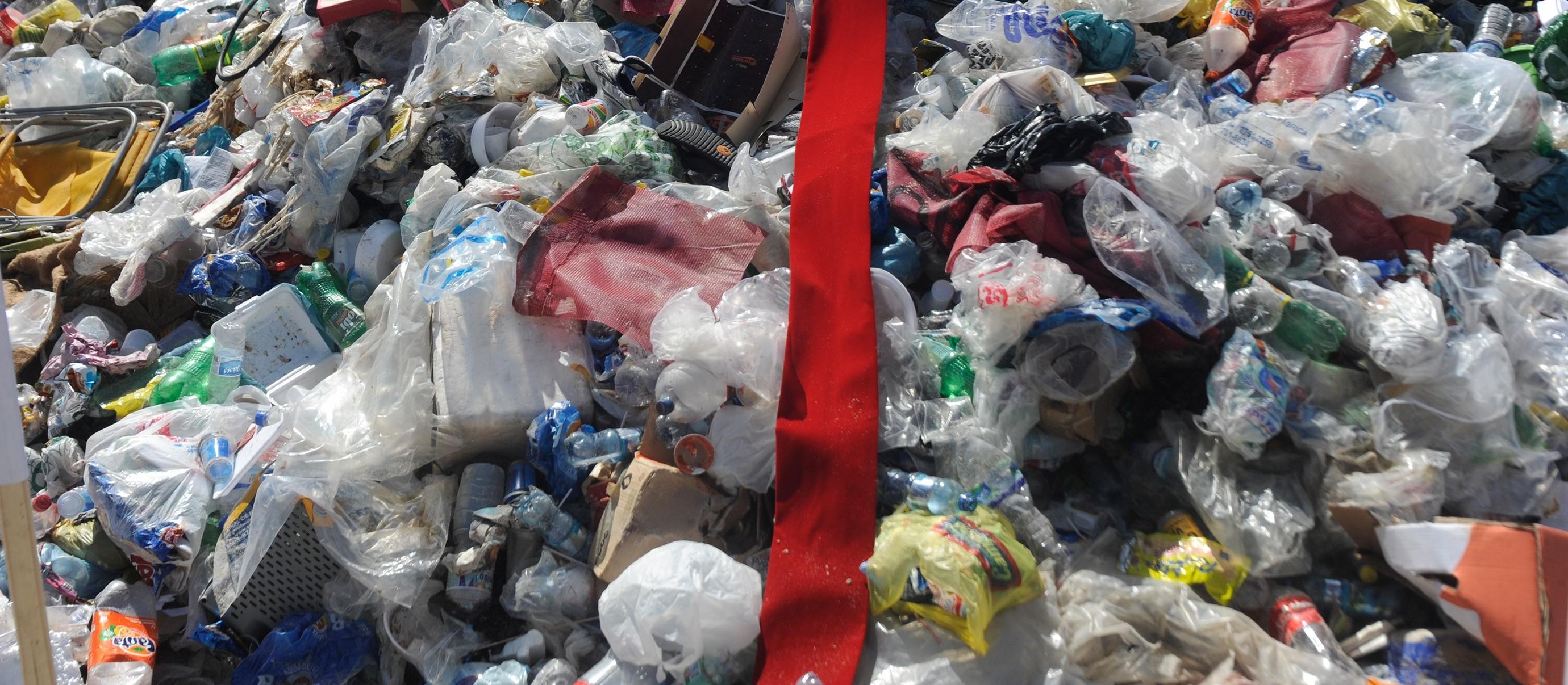 Uma forma de destinação de resíduos