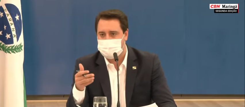 Governo do Paraná prorroga 'lockdown' e anuncia outras medidas