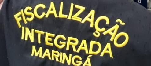 Fiscalização autua e interdita 4 estabelecimentos no fim de semana em Maringá