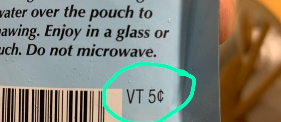 Tem supermercado que paga pela embalagem plástica devolvida