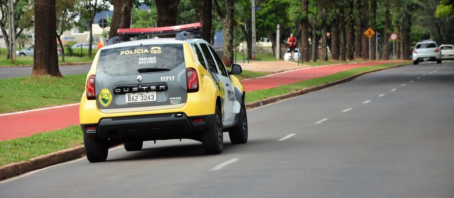 PM prende dois por furto qualificado em Maringá