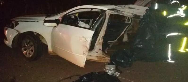 Sobe para cinco o número de mortes em acidente na PR-472, em Goioerê