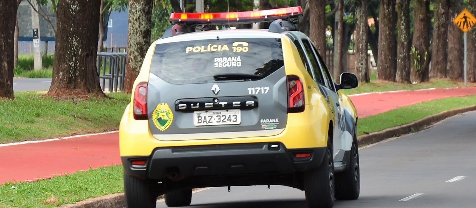 Rapaz furta veículo em colégio militar e é preso após perseguição