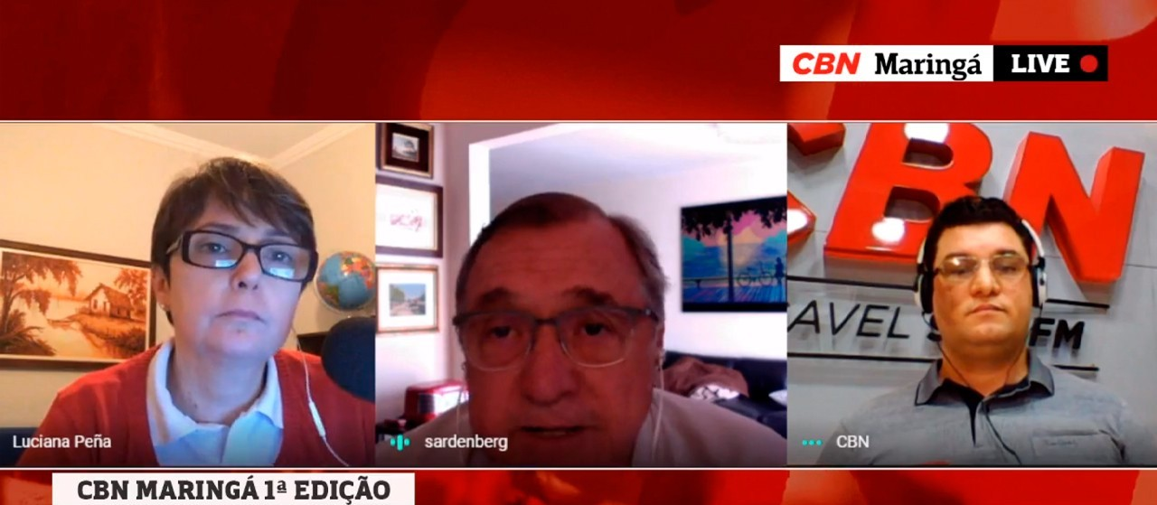 Com controle sanitário, a economia deslancha, diz Sardenberg