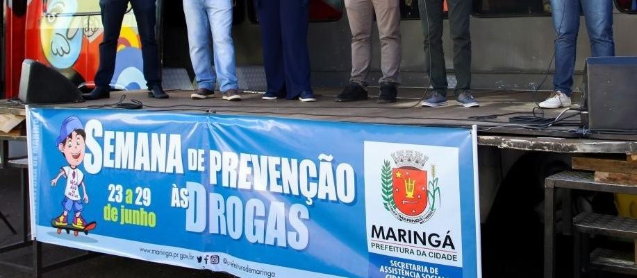 Semana de prevenção às drogas terá ações online em Maringá