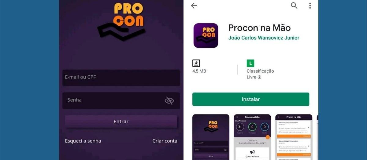 Usuário pode acionar Procon de Maringá por meio de aplicativo