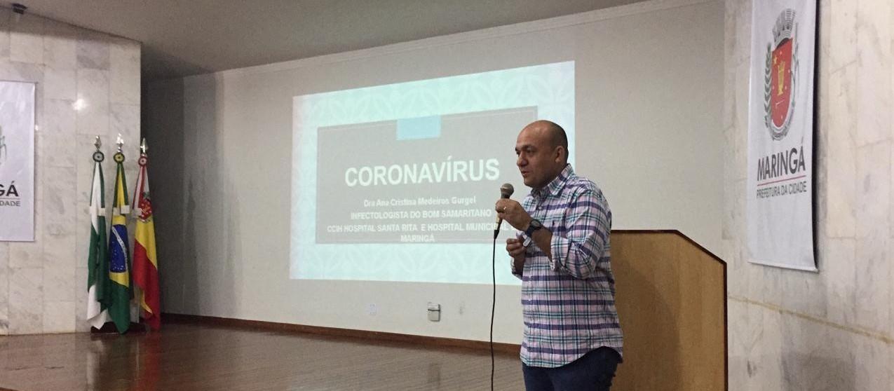 Maringá confirma mais um caso de coronavírus