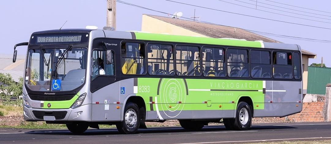 Viação Garcia altera horários de ônibus na linha Metropolitana