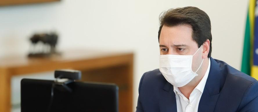 67% dos paranaenses aprovam postura de Ratinho Júnior frente à crise do coronavírus