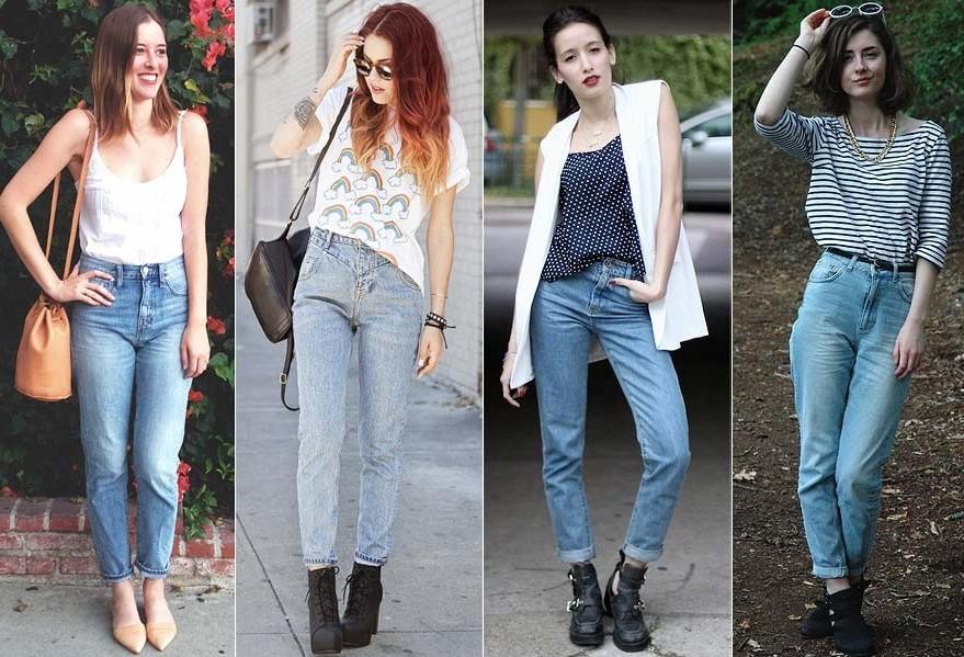 Mom jeans: peça dos anos 90 que une tendência e conforto