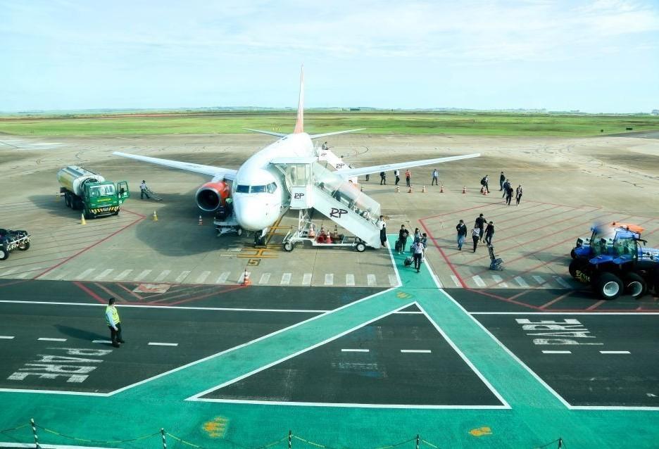 Aeroporto de Maringá teve aumento de 15% no fluxo de passageiros em 2019