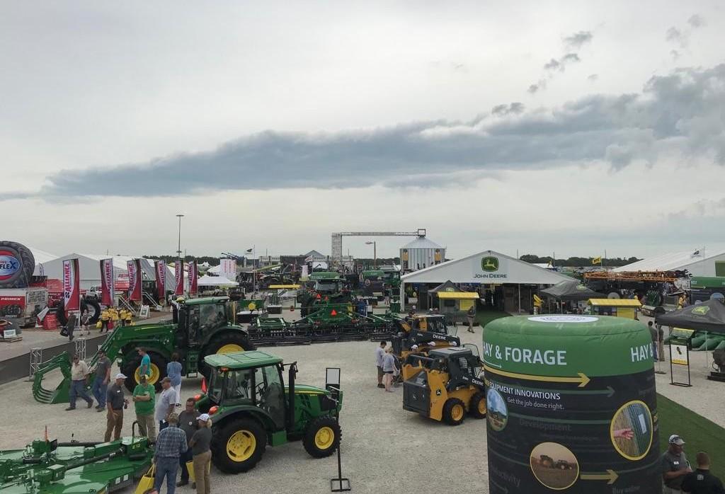Farm Progress Show recebe mais de 600 expositores de equipamentos e implementos agrícolas por ano