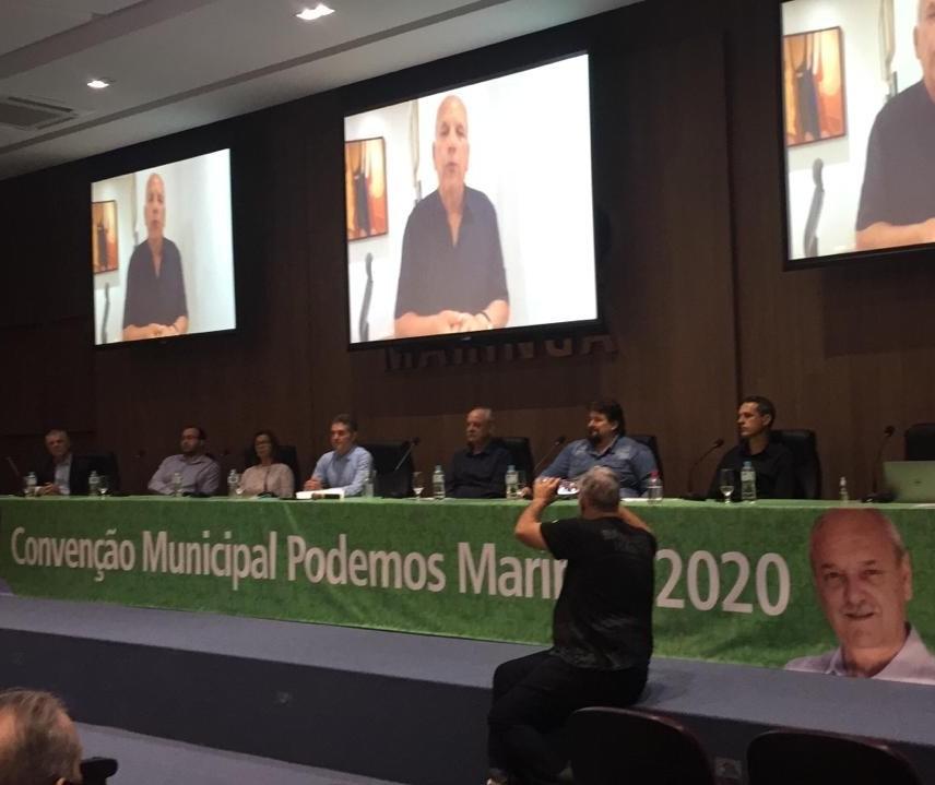 Podemos confirma os candidatos José Luiz Bovo para prefeito e César Moreno para vice