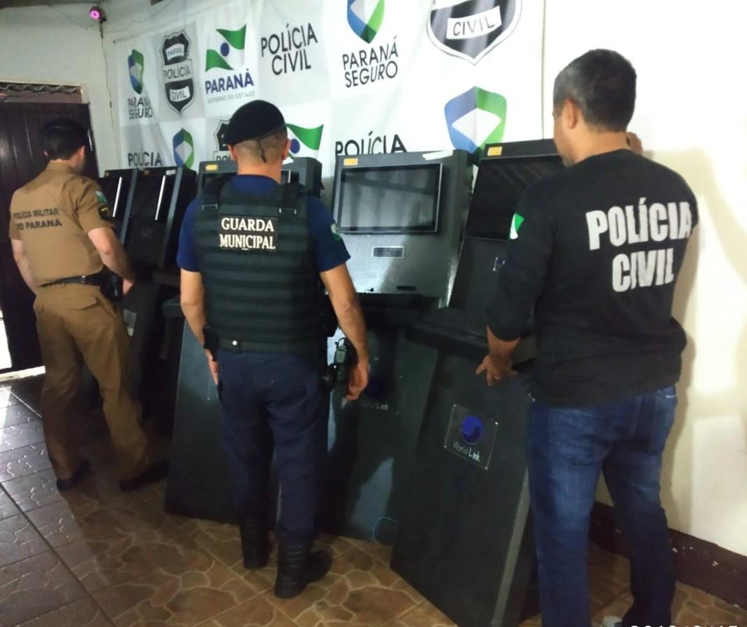 Polícia apreende seis máquinas de jogos após reclamação de moradores