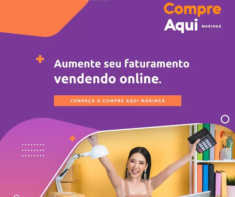 Grupo Maringá de Comunicação lança marketplace para empreendedores de Maringá e região