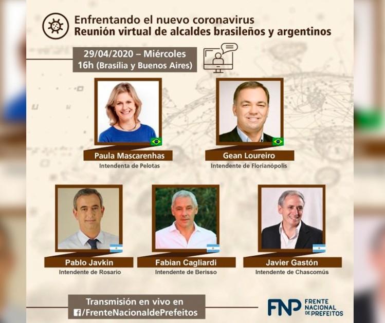 Prefeitos brasileiros e estrangeiros debatem soluções de enfrentamento à pandemia