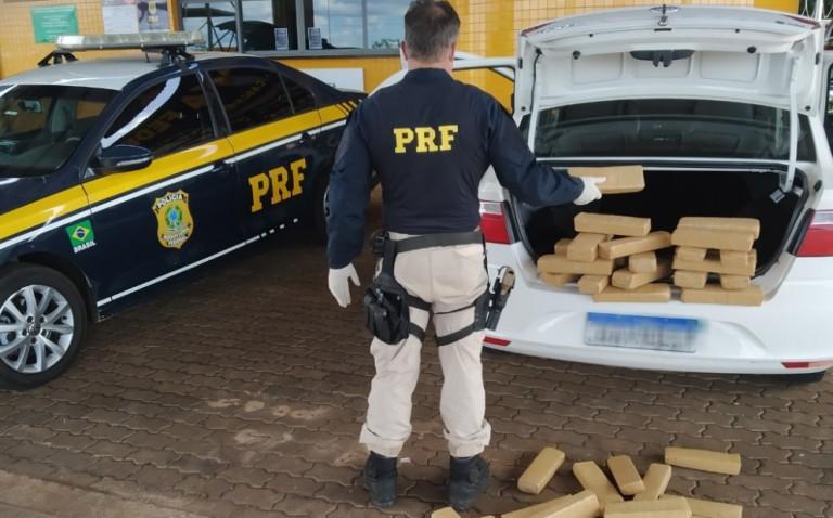 PRF apreende 7,7 toneladas de drogas na região de Maringá